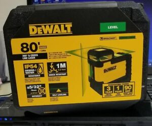 Dewalt Dw03601cg 360 Degree Green Beam Cross Line Laser New 2018 Model