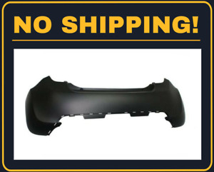New Rear Bumper Cover Fit Chevrolet Spark 2013 2015 Gm1100900