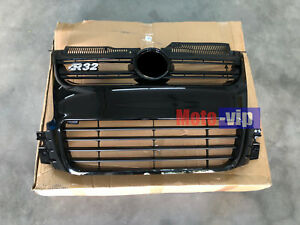 Euro Style Car Front Glossy Black Grill Grille Fit For 06 09 Mk5 Vw Golf R32