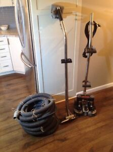 Rotovac Powerwand Carpet Extractor Machine Extra Extractor And Hoses Nice