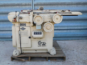 Covel Model 22 Tool And Cutter Grinder With Power Feed Table And Lots Of Fixture