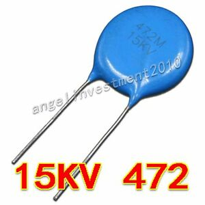 New High Voltage Ceramic Capacitor 15kv472 15000v 0 0047 f 4 7nf 4700pf
