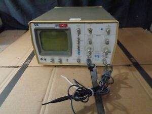 Hp Agilent 1220a Industrial Two Signal Dual Trace Display Oscilloscope