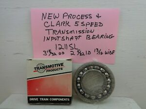 New Process Clark Transmission Input Shaft Bearing 1211sl Np 540 541 542