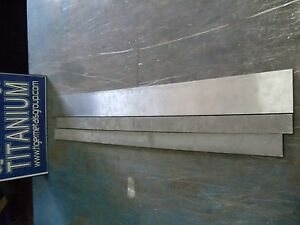 Titanium Plate 6al 4v 875 Thickness 5 5 X 6 35 As