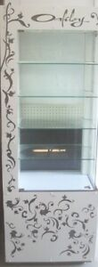 Store Display Fixtures Oakley Lighted Display Tower 73 Tall