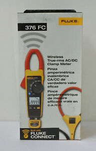 Fluke 376 Fc True rms Ac dc 1000a Wireless Clamp Meter I2500 18 Iflex Cable New