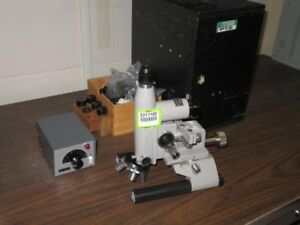 Unitron Rmm 2 Rollscope Metallurgical Microscope With 4 Objectives