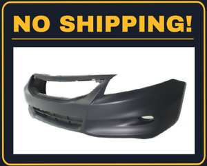 New Front Bumper Cover Fit Honda Accord Coupe 2011 2012 Ho1000277