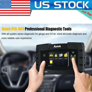 Full Systems Obd Obd2 Code Reader Automotive Scanner Diagnostic Tool Autek 969