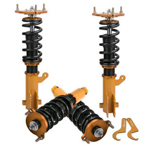 New Coilovers Kit For Mitsubishi Eclipse 00 05 Adjustable Height Shocks Damper