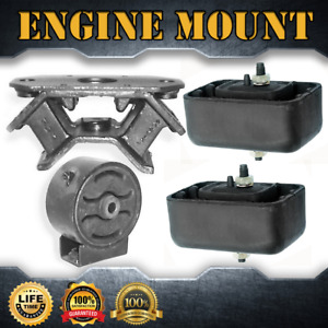 Engine Motor Trans Mount Complete Set 4pcs For 1996 1997 Geo Tracker 1 6l