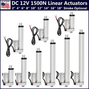1500n Linear Actuator Dc12v Electric Motor For Solar Track Auto Car Door Lifting