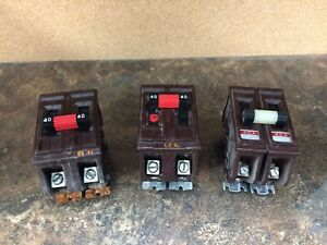 Wadsworth 40a 2p Circuit Breaker
