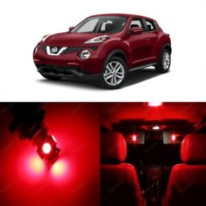 8 X Red Led Interior Light Package For 2011 2017 Nissan Juke Pry Tool