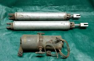 Rare 1958 Oem Ford Edsel Original Convertible Top Pump Cylinders Pacer Ranger