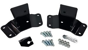 Chevy Drop Hangers 2 Rear Kit 1988 1998 1500 Truck Lowering Parts