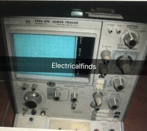 Tektronix Transistor Curve Tracer Model 576 Powers On
