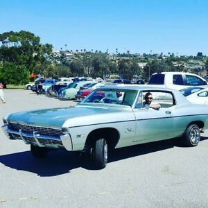 1968 Chevy Impala Ss With Hideaways