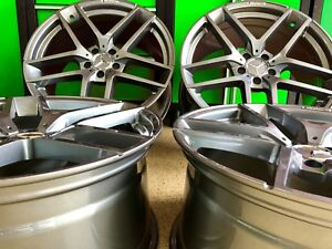20 Inch Mercedes Gl63 Gunmetal Edt Rims Wheels Set 4 New Fits Gl450 Gl550 Gl Amg