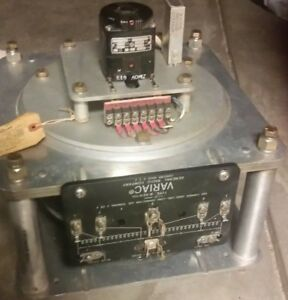General Radio Variac Auto Transformer W50h Bb 240v 25a 50 60 Cycles With Motor