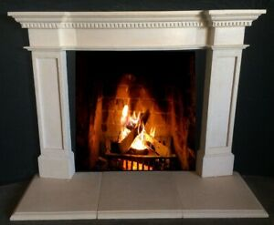 Cast Stone Fireplace Mantle Stone Mantel Cast Easy Installation