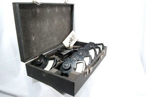 Columbia Electric 7 Piece Ac dc Clamp On Tong Test Ammeter W Case