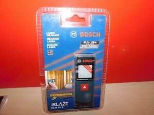 Brand New Bosch Laser Measure Blaze Glm20x Brand New Package Is Damaged