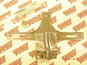 1939 41 Ford Passenger Car And Pickup Front License Plate Bracket Coupe Sedan