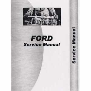 Service Manual 6000 Ford 6000 6000