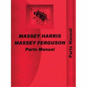 Parts Manual Colt Massey Harris Colt Colt