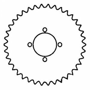 Walker Drive Sprocket Gleaner K2 F2 F3 71320621