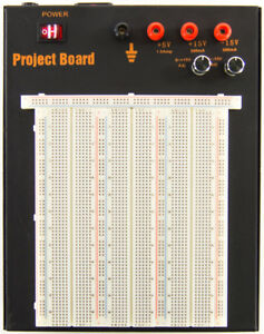 Powered Solderless Breadboard With 2390 Tie Points 3 Regulated Power Supplies