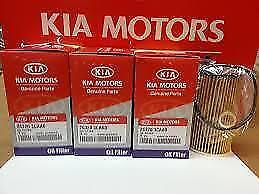 Oem 2011 2012 2013 2014 2015 Kia Sorento Oil Filter 4pack 3 5l V6 26320 3caa0