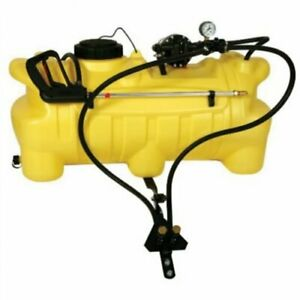 Spot Sprayer 25 Gallon Atv 4 0 Gpm 12 Volt Pump Deluxe Spray Wand