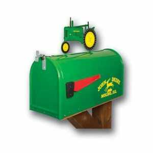 Tractor Mailbox With Topper John Deere Model B