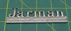 Vintage jarman Car Oem Classic Dealer Emblem 4 X 1 1 4