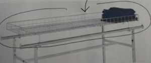 Store Display Fixtures New Grid Basket Topper For H Style Clothing Racks