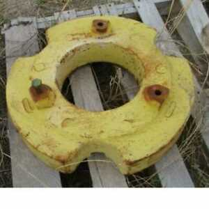 Used Rear Wheel Weight Compatible With John Deere 4630 4250 4650 8430 4050 4450