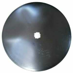 Disc Blade 20 Smooth Edge 3 16 Thickness 1 1 8 Square Axle