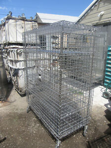 Metro Liquor Cage Ss Medical Grade All Stainless Steel