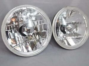 7 Inch 97 16 Jeep Wrangler Tj Jk Round Glass Crystal Clear Headlights