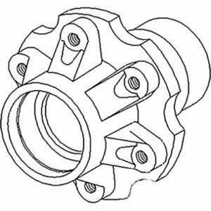 Wheel Hub Front International 584 484 684 784 Case Ih 495 695 595 995 895