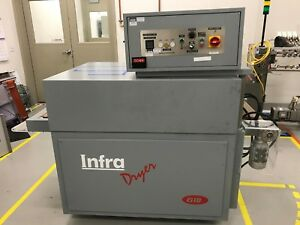2011 Acos Graf Ts12550 Gto Infra Dryer Curing Oven With Internal Conveyor