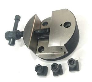 Quality 80 Mm Round Vice For 3 80 Mm 4 100 Mm Rotary Milling Indexing Table