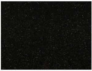 Black Galaxy 112 x26 Polished Granite Prefab Countertop