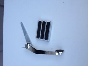 Lokar Custom Spoon Style Gas Pedal And Matching Brake Pedal Hot Rod Rat 32 Ford