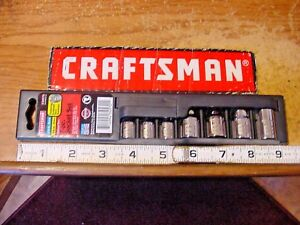 Craftsman 7 Piece 1 4 3 8 Drive External Torx Bit Socket Set 34570 Usa