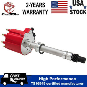 High Performance Billet Ignition Distributor For Chevy Gm 350 5 7l Efi Tbi Tpi