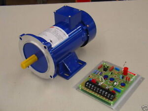 3 4 Hp 180 Vdc Dc Motor And Variable Speed Control